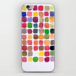 100 Colors iPhone Skin