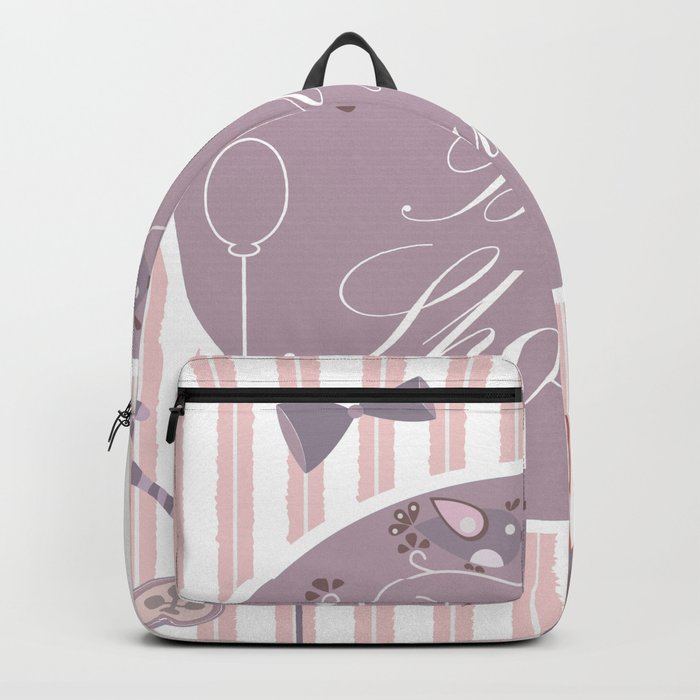 Baby Shower Backpack