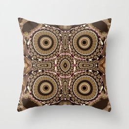 Sequential Baseline Pattern 5 Throw Pillow