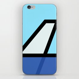 Lonely Travels - 787 iPhone Skin