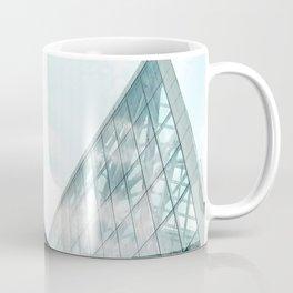 Turquoise Glass Building Coffee Mug