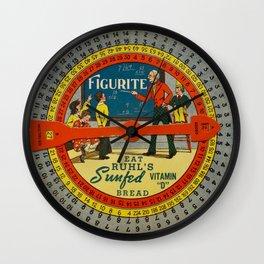 The Figurite Wheel Clock Wall Clock