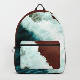 Watercolor seaside Backpack