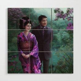 Sakura Garden Wood Wall Art