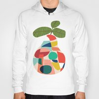 pear Hoodies featuring Fresh Pear by Picomodi