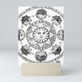 Vintage Astrology Print Mini Art Print