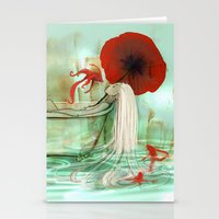 bath Stationery Cards featuring Bath by Drawberry