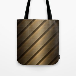 Copper Brass Metal Pipe Tote Bag
