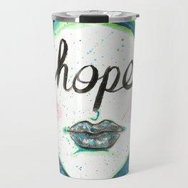 """Words Within: """"Hope"""" Travel Mug"""