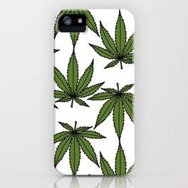 Pot Leaves iPhone Case