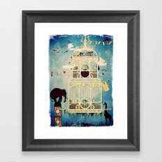 The Cage III - Call of the Wild Framed Art Print