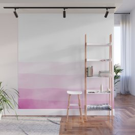 Dip Dye - Fuscia Wall Mural