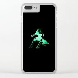 Heros Glitter Art - 6 Clear iPhone Case