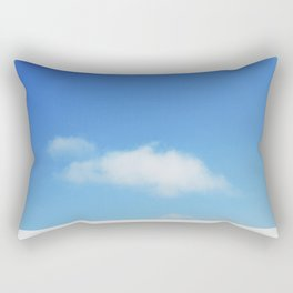 Snow and clouds in Iceland Rectangular Pillow