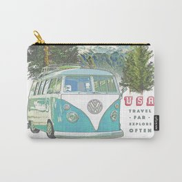 """""""Not all who wander, are lost"""" poster print Carry-All Pouch"""