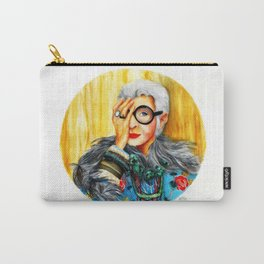 Iris Apfel.  Carry-All Pouch