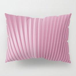 Pink Pleats Pillow Sham