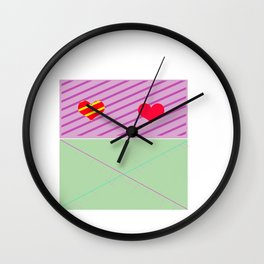 Box Tomodachi  Wall Clock