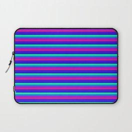 StRipES Pink Teal Blue Laptop Sleeve