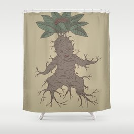 Mandragora Shower Curtain