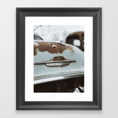 Vintage Plymouth Framed Art Print