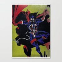 spawn Canvas Prints featuring spawn by drjoe35