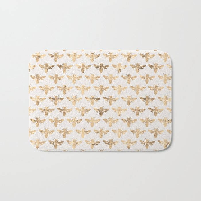 Honey Bees (Sand) Bath Mat