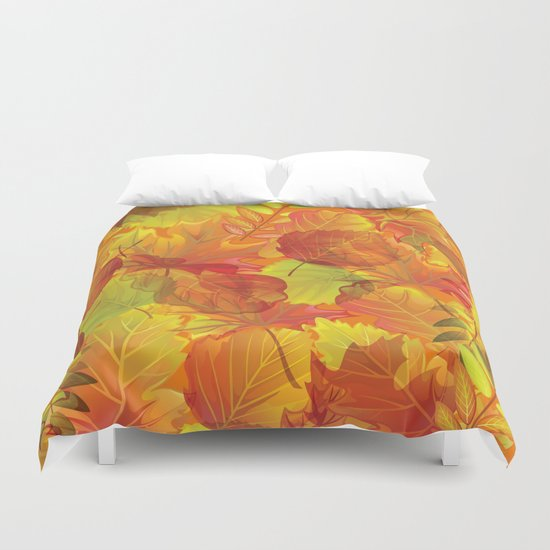 Autumn leaves #4 Duvet Cover
