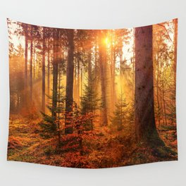 The Golden Hour (Color) Wall Tapestry