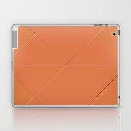 Jaffa Red Damask Laptop & iPad Skin