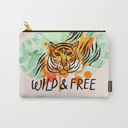 Wild and Free Tiger Carry-All Pouch