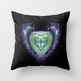 Crown Jewel Throw Pillow