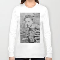 jared leto Long Sleeve T-shirts featuring Jared Leto on water  by Jenn