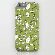 Scandi Leaves iPhone 6s Slim Case