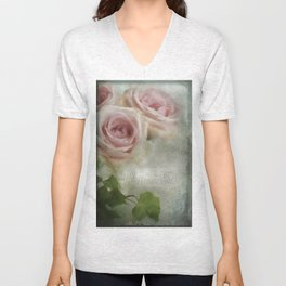 Rose Perfume Unisex V-Neck