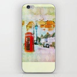 England iPhone Skin