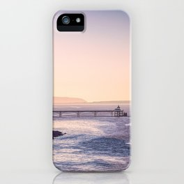 Clevedon Sea front iPhone Case