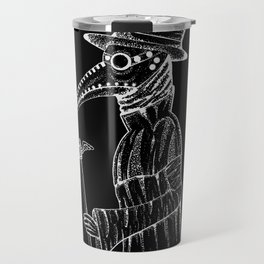 Plague Doctor Travel Mug