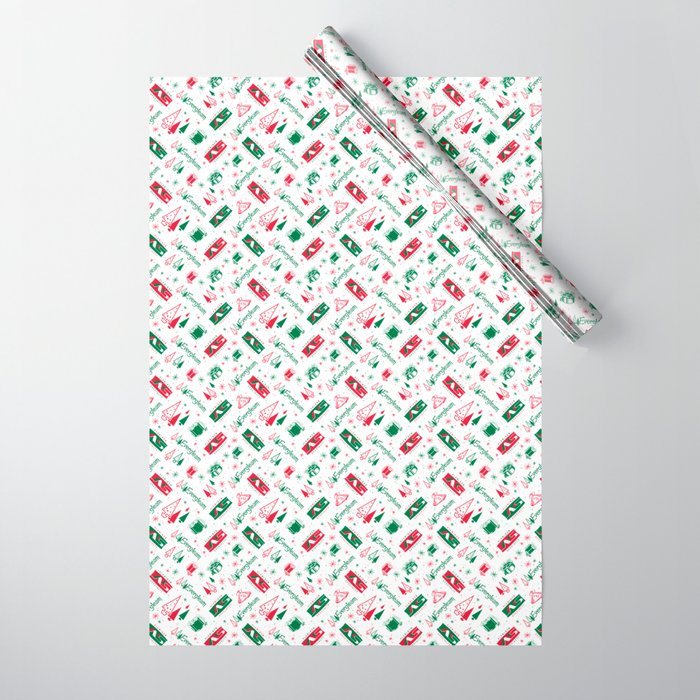 Evergleam Pattern Wrapping Paper
