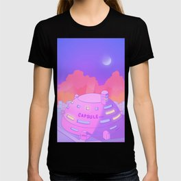 Pastel Capsule Corp T-shirt