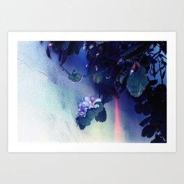 Purple Flower aka Pretty Poison  Art Print