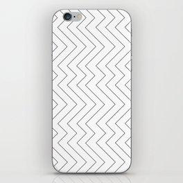 YARA ((black on white)) iPhone Skin