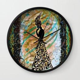 Persian Nostalgia Wall Clock