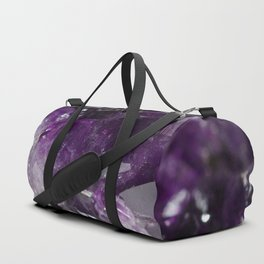 Amethyst jumble Duffle Bag