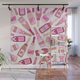 French Champagne Collection – Pink Wall Mural