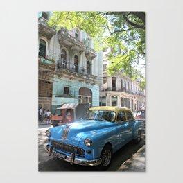 auto antiche Canvas Print