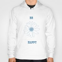 daisies Hoodies featuring Daisies by Zen and Chic