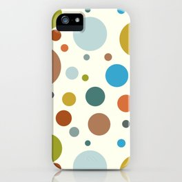 Robot Babies Polka Dots iPhone Case