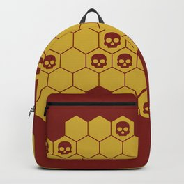 Honey Skulls - Red Backpack