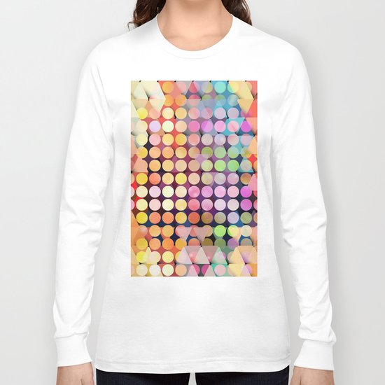 Geometric Party Long Sleeve T-shirt